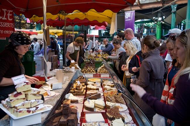 Những ngôi chợ độc đáo ở London