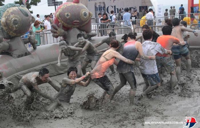Lễ hội bùn Hàn Quốc