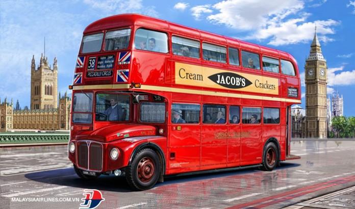 Xe bus 2 tầng ở London