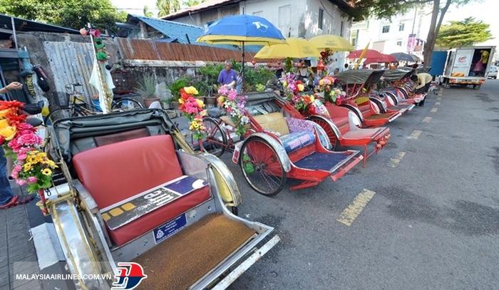 Xích lô 3 bánh Penang