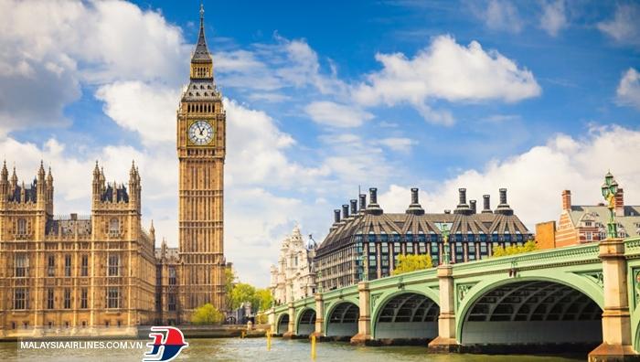 Tòa tháp Big Ben