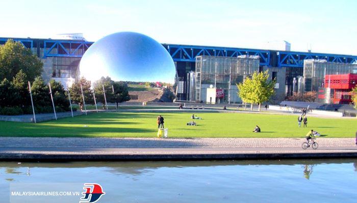 Công viênParc de la Paris Villette