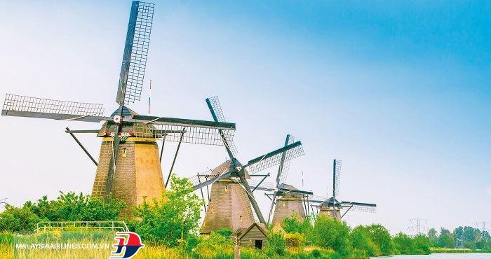 Làng Kinderdijk được công nhận là di sản văn hóa thế giới