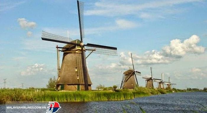 Làng Kinderdijk - Hà Lan
