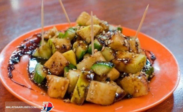 Salad trộn rau quả Rojak