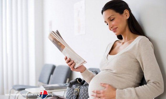 Malaysia quy định phụ nữ mang thai đi máy bay